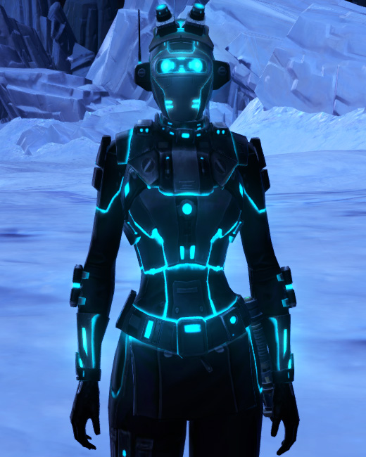 Blue Scalene Armor Set Preview from Star Wars: The Old Republic.