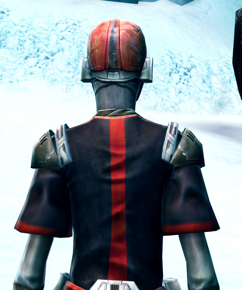Brutal Executioner Armor Set detailed back view from Star Wars: The Old Republic.