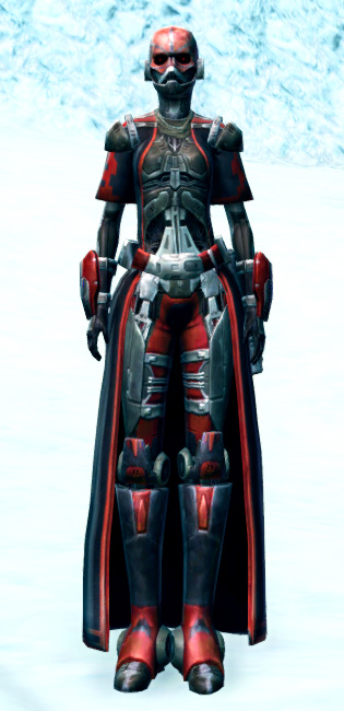 Brutal Executioner Armor Set Outfit from Star Wars: The Old Republic.