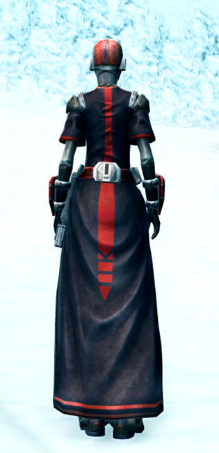 Brutal Executioner Armor Set player-view from Star Wars: The Old Republic.