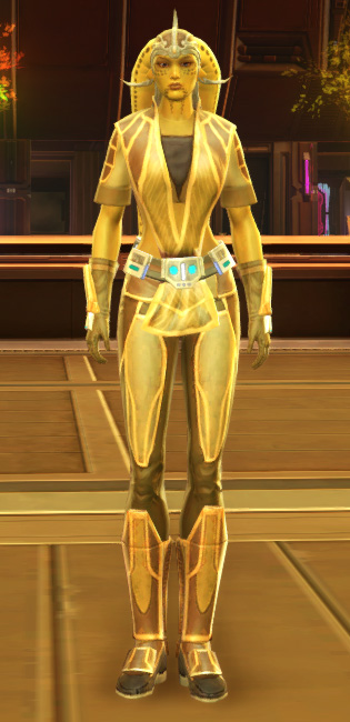 Casual Combatant Armor Set Outfit from Star Wars: The Old Republic.