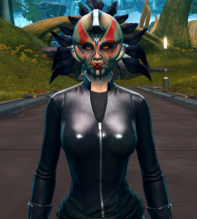 Ceremonial Headdress Armor Set from Star Wars: The Old Republic.