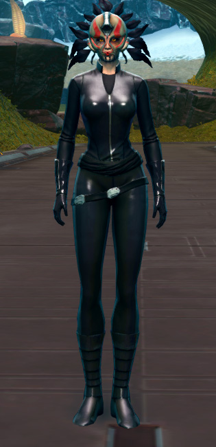 Ceremonial Headdress Armor Set Outfit from Star Wars: The Old Republic.