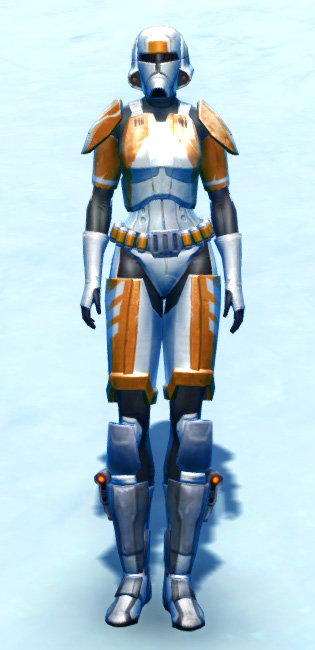 Chanlon Onslaught Armor Set Outfit from Star Wars: The Old Republic.