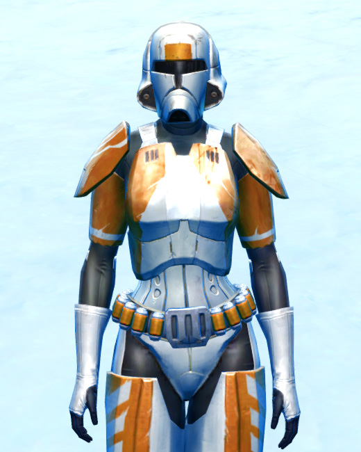 Chanlon Onslaught Armor Set Preview from Star Wars: The Old Republic.