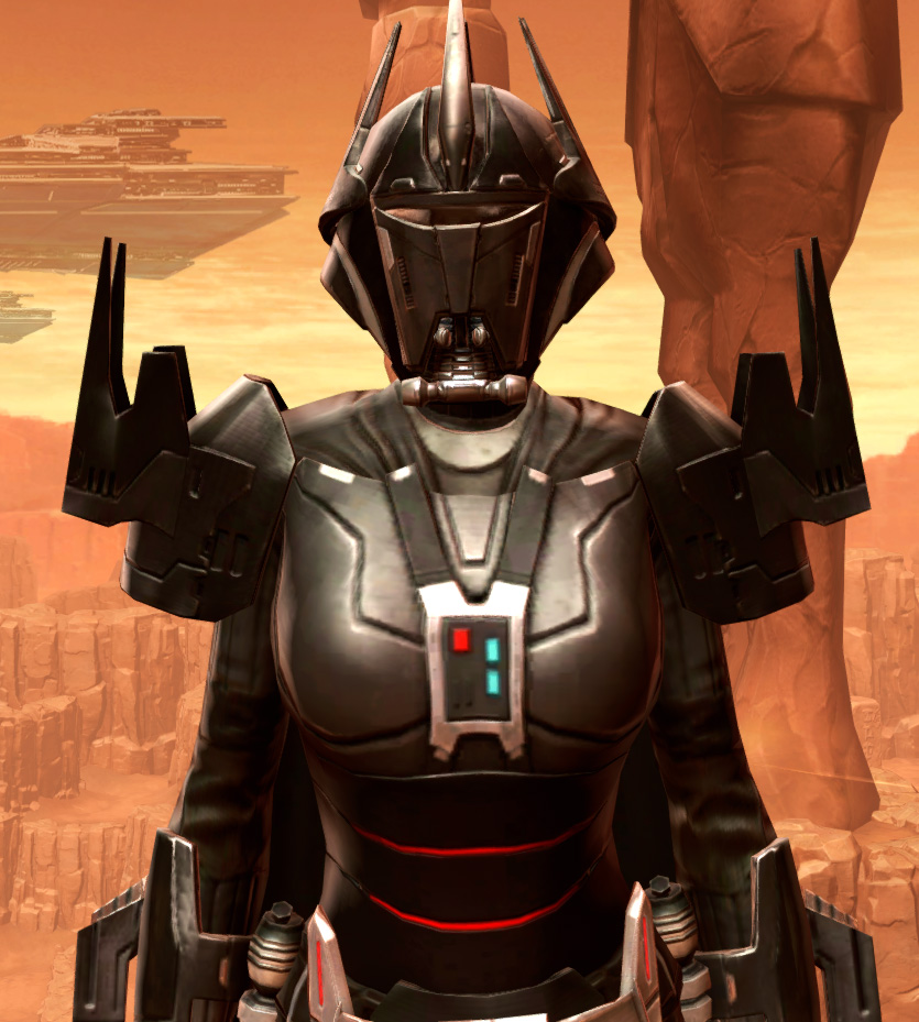Charged Hypercloth Aegis Armor Set from Star Wars: The Old Republic.
