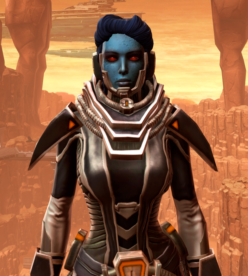 Charged Interrogator Armor Set from Star Wars: The Old Republic.