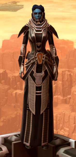 Charged Interrogator Armor Set Outfit from Star Wars: The Old Republic.