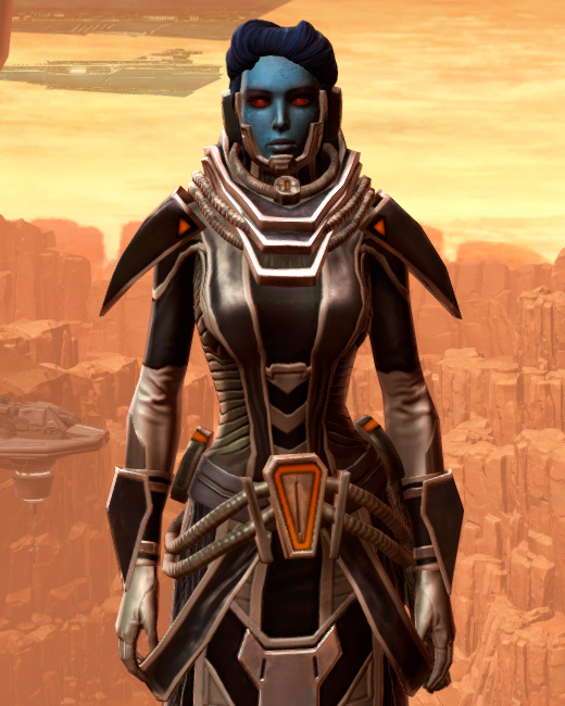 Charged Interrogator Armor Set Preview from Star Wars: The Old Republic.