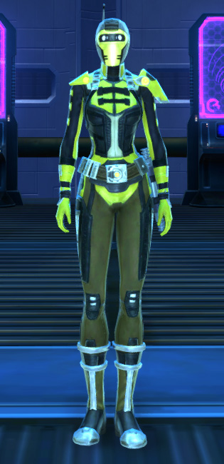 Ciridium Onslaught Armor Set Outfit from Star Wars: The Old Republic.