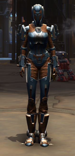 Citadel Med-tech Armor Set Outfit from Star Wars: The Old Republic.