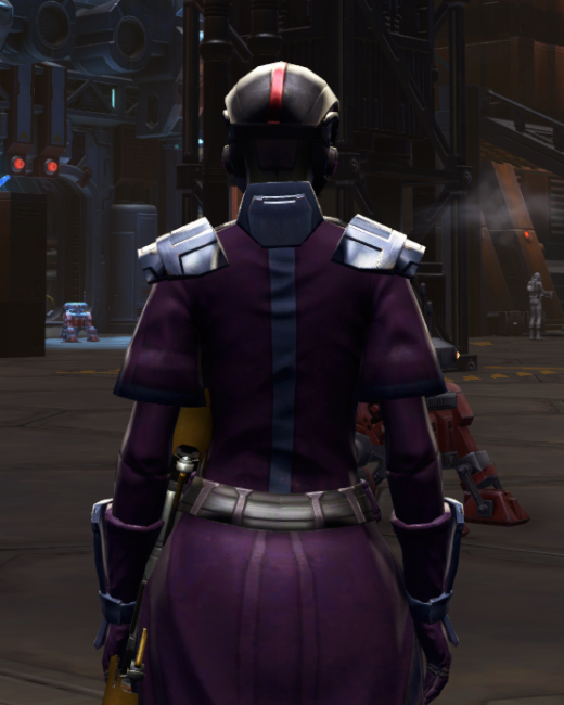 Citadel Pummeler Armor Set Back from Star Wars: The Old Republic.