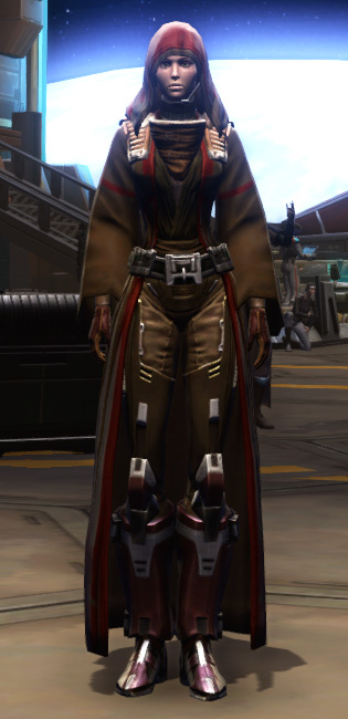 Citadel Pummeler Armor Set Outfit from Star Wars: The Old Republic.