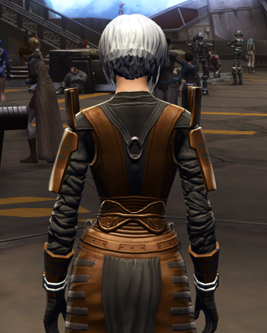 Citadel Force-lord Armor Set Back from Star Wars: The Old Republic.