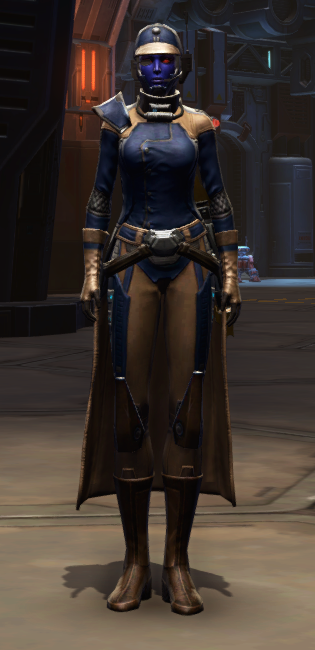 Citadel Targeter Armor Set Outfit from Star Wars: The Old Republic.