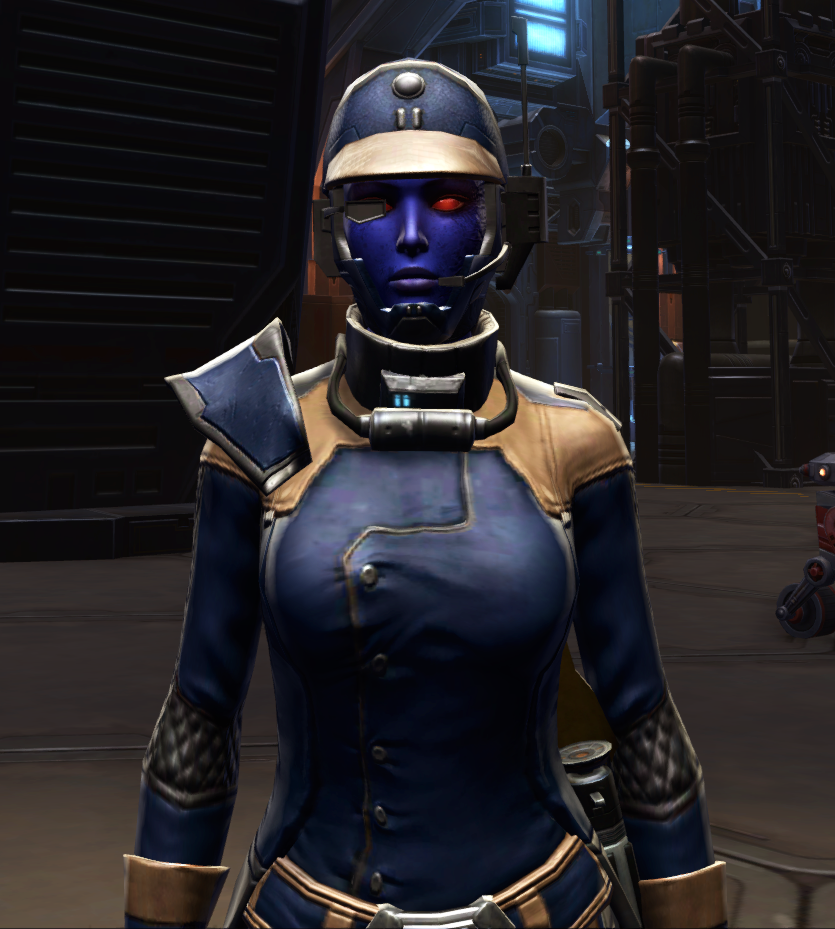 Citadel Targeter Armor Set from Star Wars: The Old Republic.