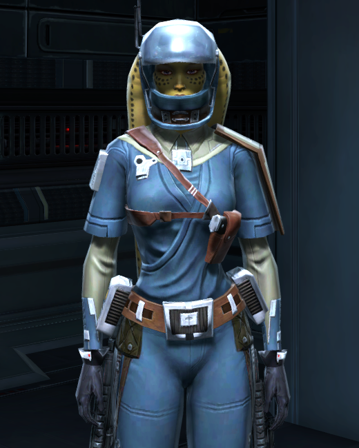 Civilian Pilot Armor Set Preview from Star Wars: The Old Republic.