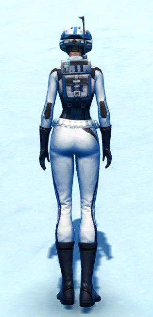 Commando Armor Set player-view from Star Wars: The Old Republic.