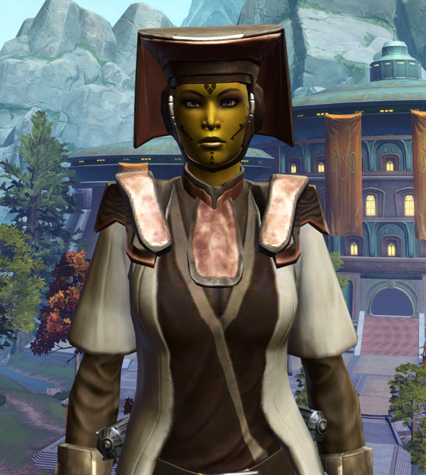 Consular Adept Armor Set from Star Wars: The Old Republic.