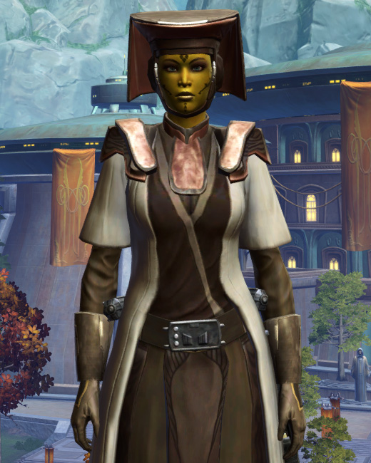 Consular Adept Armor Set Preview from Star Wars: The Old Republic.