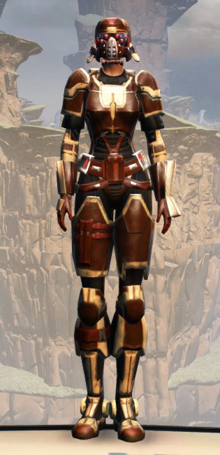 Contract Hunter Armor Set Outfit from Star Wars: The Old Republic.