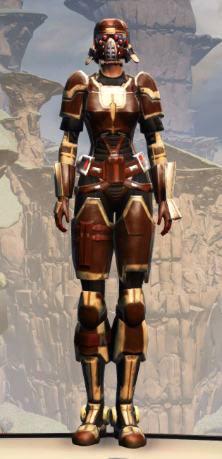 Contract Hunter (alternate) Armor Set Outfit from Star Wars: The Old Republic.