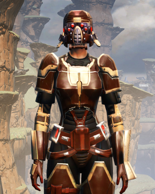 Contract Hunter (alternate) Armor Set Preview from Star Wars: The Old Republic.