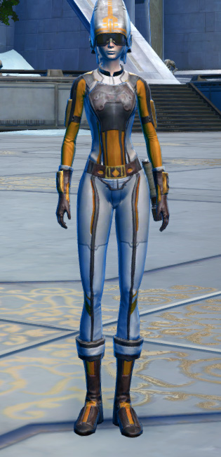 CorSec Armor Set Outfit from Star Wars: The Old Republic.