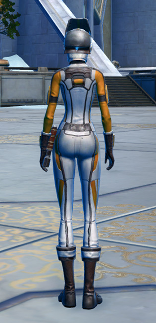 CorSec Armor Set player-view from Star Wars: The Old Republic.