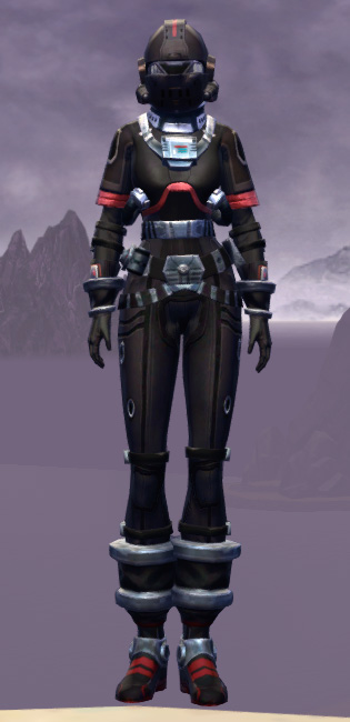 Covert Pilot Suit Armor Set Outfit from Star Wars: The Old Republic.