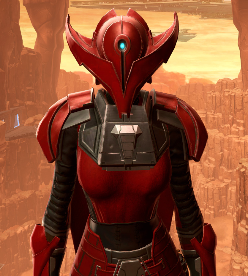 Crimson Talon Armor Set from Star Wars: The Old Republic.
