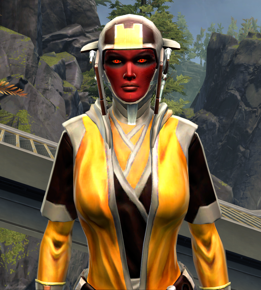 Culling Blade Armor Set from Star Wars: The Old Republic.