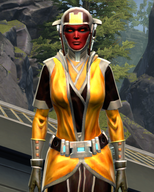 Culling Blade Armor Set Preview from Star Wars: The Old Republic.