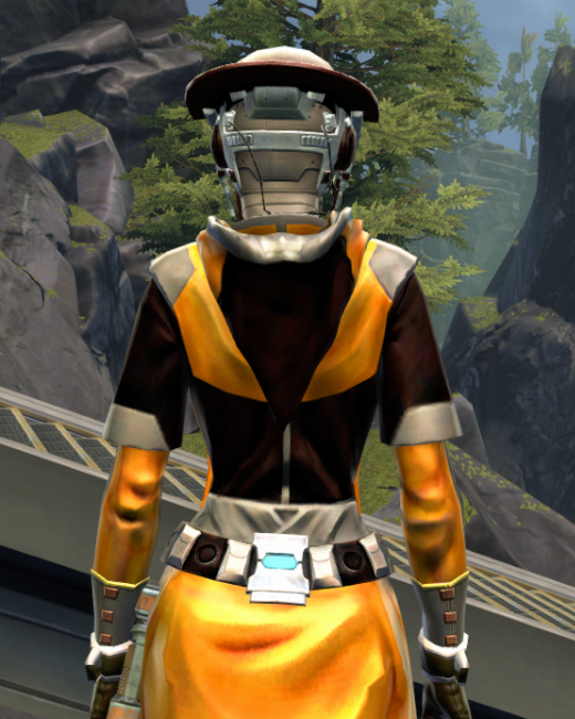 Culling Blade Armor Set Back from Star Wars: The Old Republic.