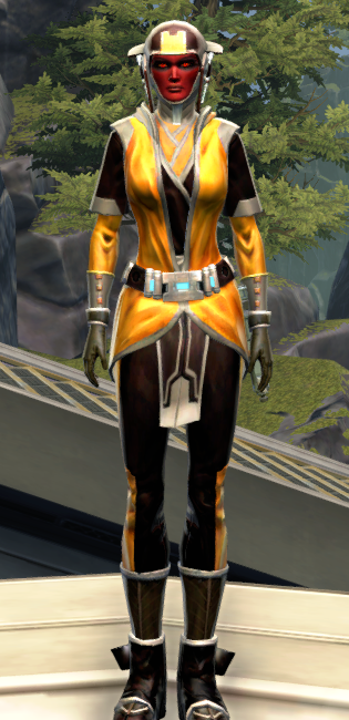 Culling Blade Armor Set Outfit from Star Wars: The Old Republic.