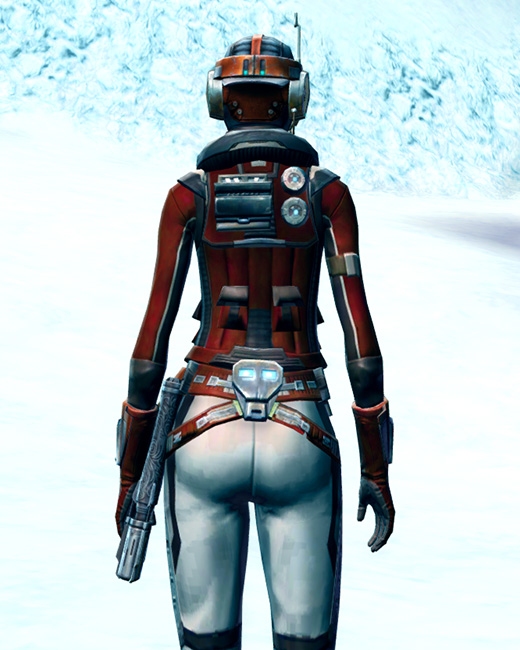 Cunning Vigilante Armor Set Back from Star Wars: The Old Republic.