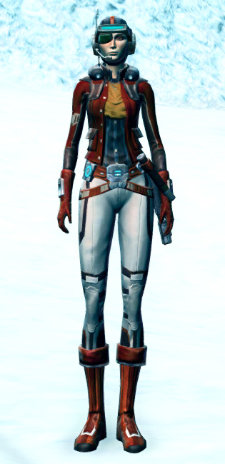 Cunning Vigilante Armor Set Outfit from Star Wars: The Old Republic.