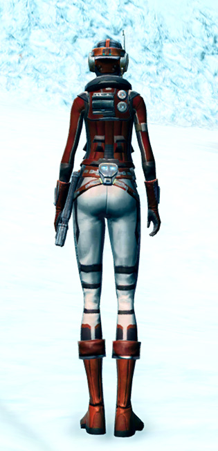 Cunning Vigilante Armor Set player-view from Star Wars: The Old Republic.