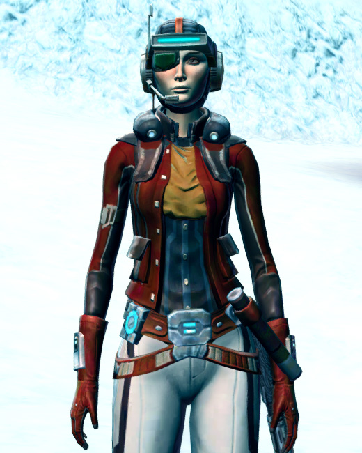 Cunning Vigilante Armor Set Preview from Star Wars: The Old Republic.