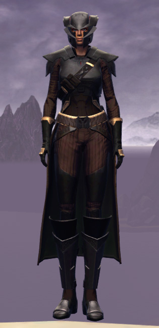 Cutthroat Buccaneer Armor Set Outfit from Star Wars: The Old Republic.