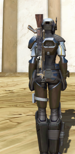 Cyber Agent Armor Set player-view from Star Wars: The Old Republic.