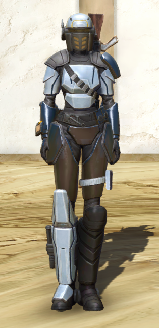 Cyber Agent Armor Set Outfit from Star Wars: The Old Republic.