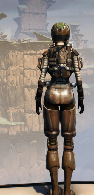 CZ-13K Guerrilla Armor Set player-view from Star Wars: The Old Republic.