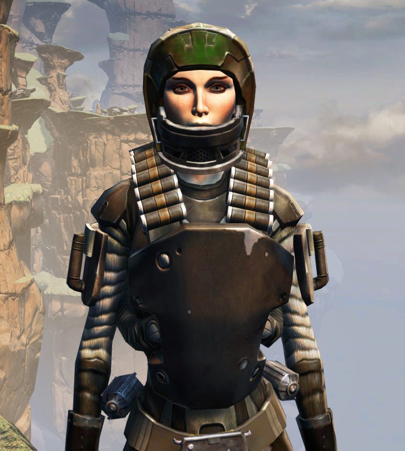 CZ-13K Guerrilla Armor Set from Star Wars: The Old Republic.