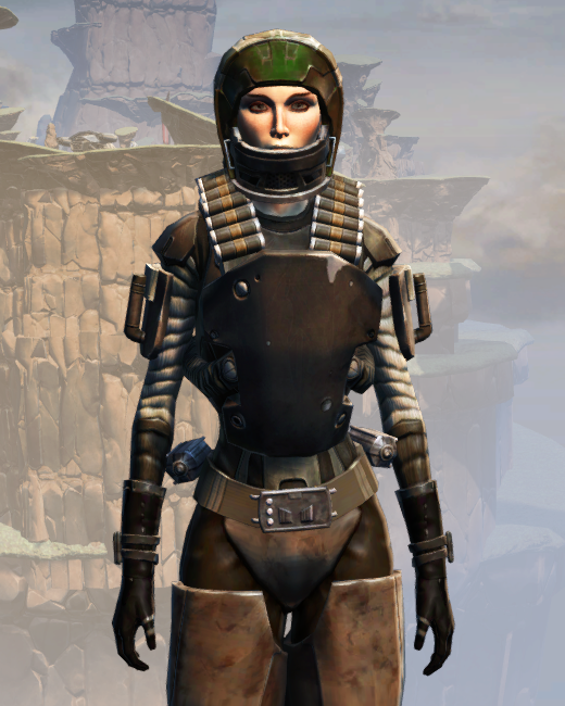 CZ-13K Guerrilla Armor Set Preview from Star Wars: The Old Republic.