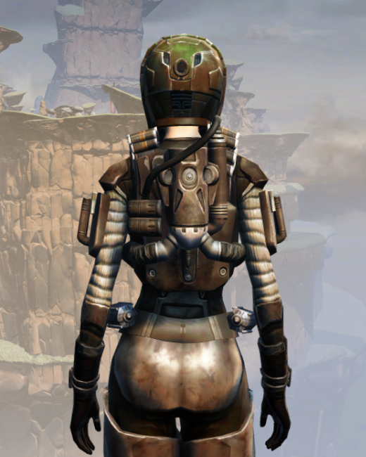 CZ-13K Guerrilla Armor Set Back from Star Wars: The Old Republic.