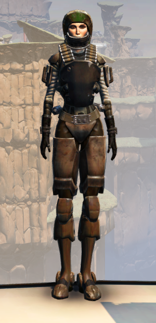 CZ-13K Guerrilla Armor Set Outfit from Star Wars: The Old Republic.