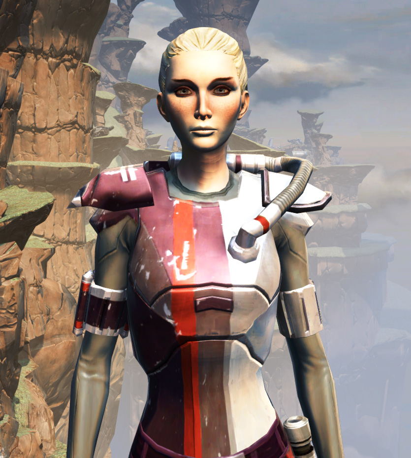 CZ-18X Avalanche Chestplate Armor Set from Star Wars: The Old Republic.
