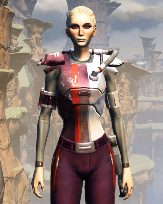 CZ-18X Avalanche Chestplate Armor Set Preview from Star Wars: The Old Republic.