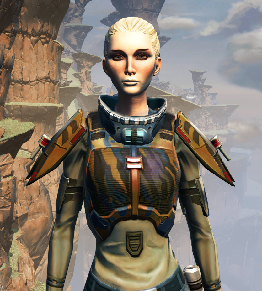 CZ-5 Armored Assault Harness Armor Set from Star Wars: The Old Republic.